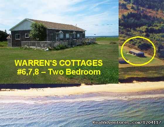 2 Bedroom Cottage -  6,  7,  8 - Warren's Beachfront Cottages
