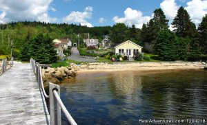 Larinda's Landing Oceanfront Cottages Vacation Rentals Boutiliers Point, Nova Scotia