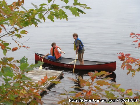 Canoeing in the fall - Morning Mist Sanctuary & Spa