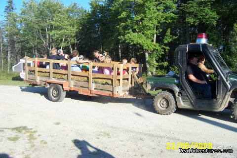 Hayride - Clyde River Cottages & Campground