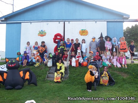 halloween is a fun time here at the park. - Little Lake Family Campground