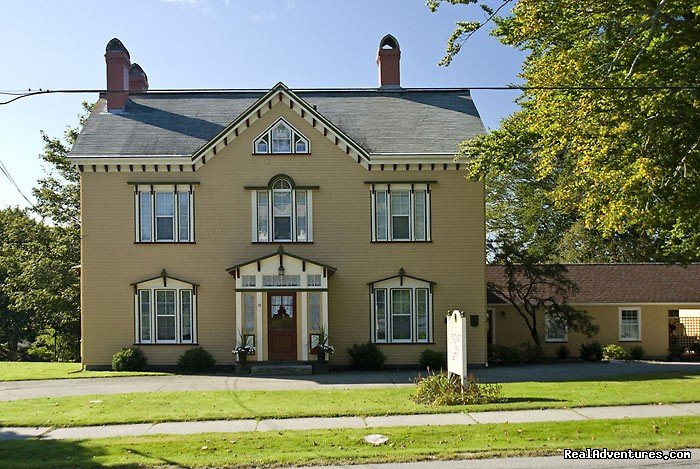 The only Bed and Breakfast in Yarmouth on the water, with 4 rooms all with private baths. Built in 1864, this heritage home is simply lovely. Esther and Gil rescued this house from the wrecking ball and lovingly restored it to its former grandeur.