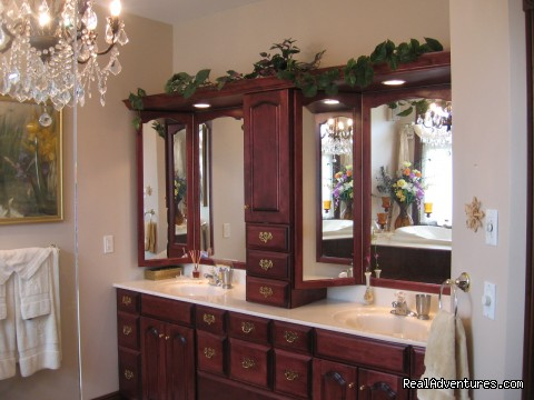 Master Suite Bathroom (#5 of 11) - A la Maison d'Amitie' B & B