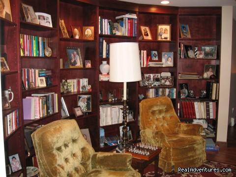 Balcony Library (#9 of 11) - A la Maison d'Amitie' B & B