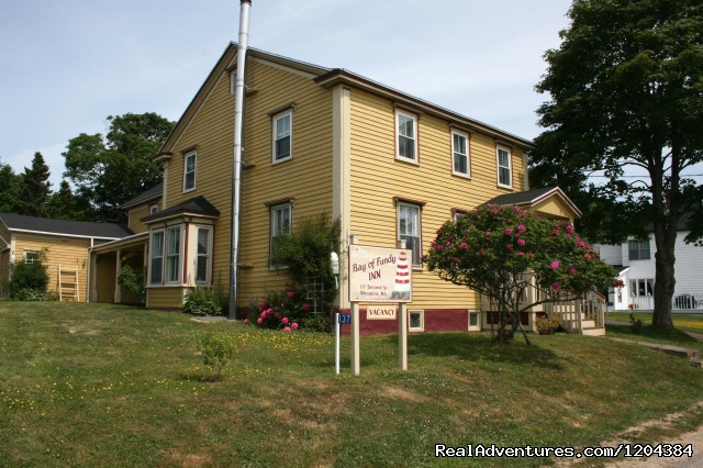 Bay of Fundy Inn: The inn