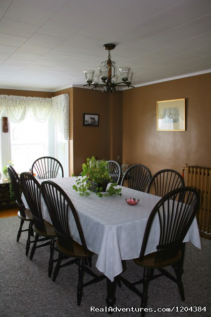 Dining Room - Bay of Fundy Inn