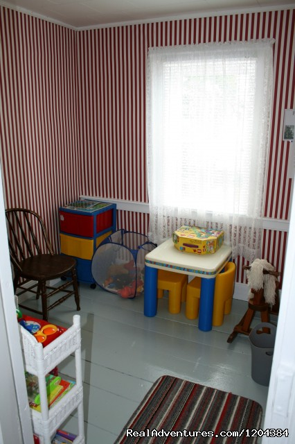 Children's Playroom - Bay of Fundy Inn
