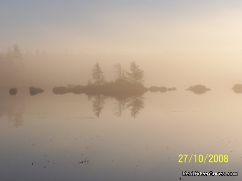 Early  Morning Mist - Lakefront Peace & Serenity at Tranquil Times B&B
