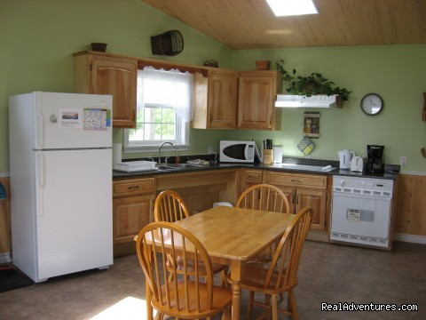 Fully Equipped Kitchen - Shangri-la Cottages