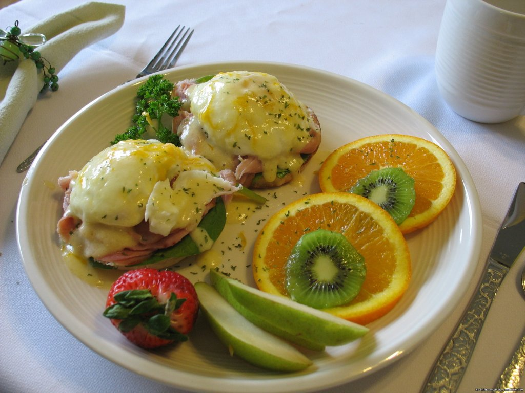 Eggs Benedict anyone | Image #2/2 | Nelson House Bed & Breakfast