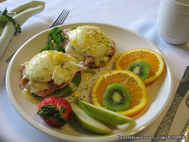 Eggs Benedict anyone - Nelson House Bed & Breakfast