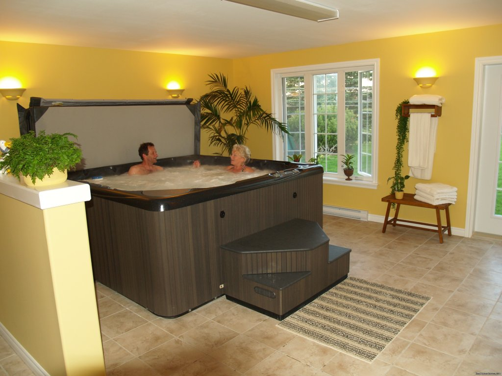 Hot Tub | Image #3/10 | Baker's Chest Tea Room and Bed & Breakfast