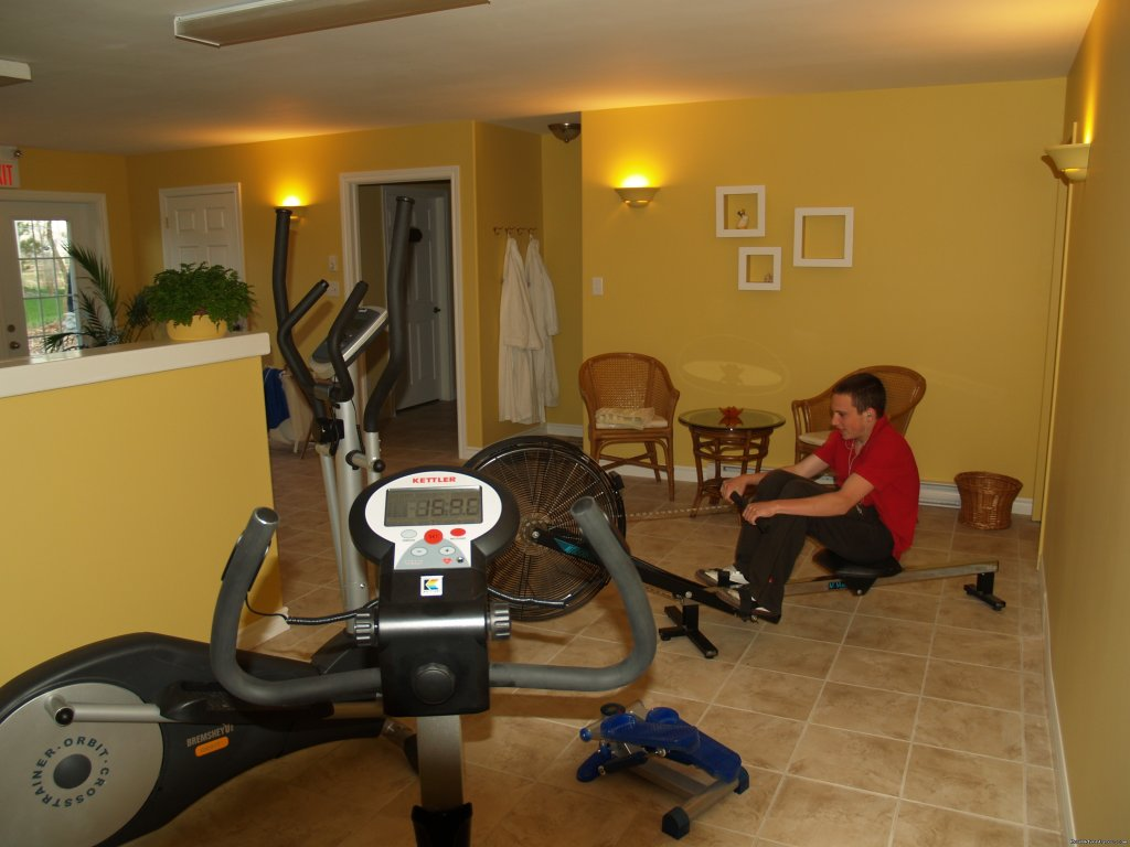 Fitness Area | Image #7/10 | Baker's Chest Tea Room and Bed & Breakfast