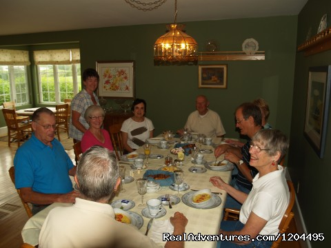 Breakfast at The Baker's Chest B&B (#2 of 10) - Baker's Chest Tea Room and Bed & Breakfast