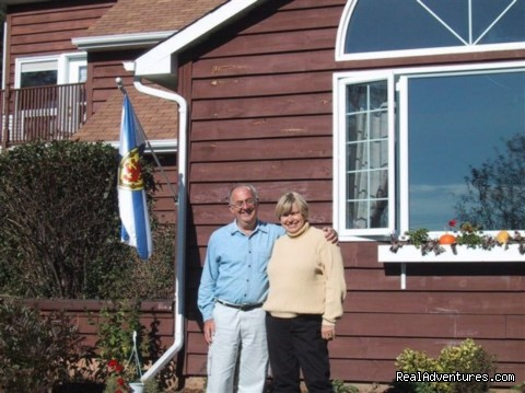 Your Hosts, Larry & Ann MacCormack - Tulips and Thistle Bed & Breakfast