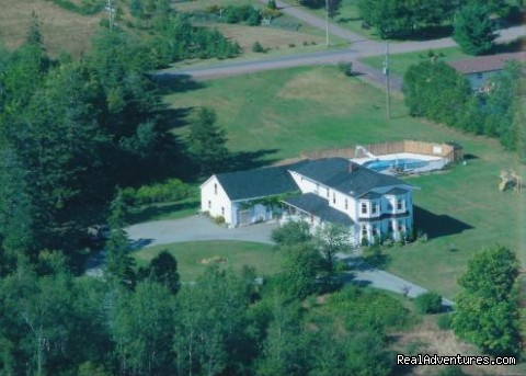 The Mansion in eagles eyes - Parrsboro Mansion Inn