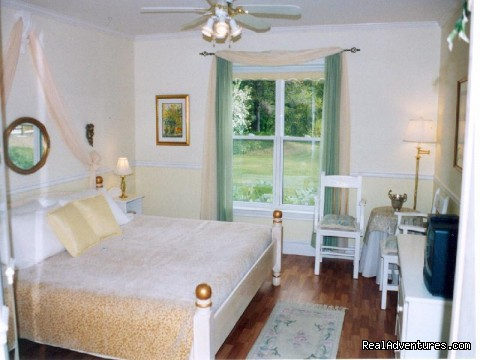 The Classic Citrus room - Parrsboro Mansion Inn