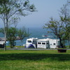 Camp on the beautiful Bay of Fundy in Nova Scotia