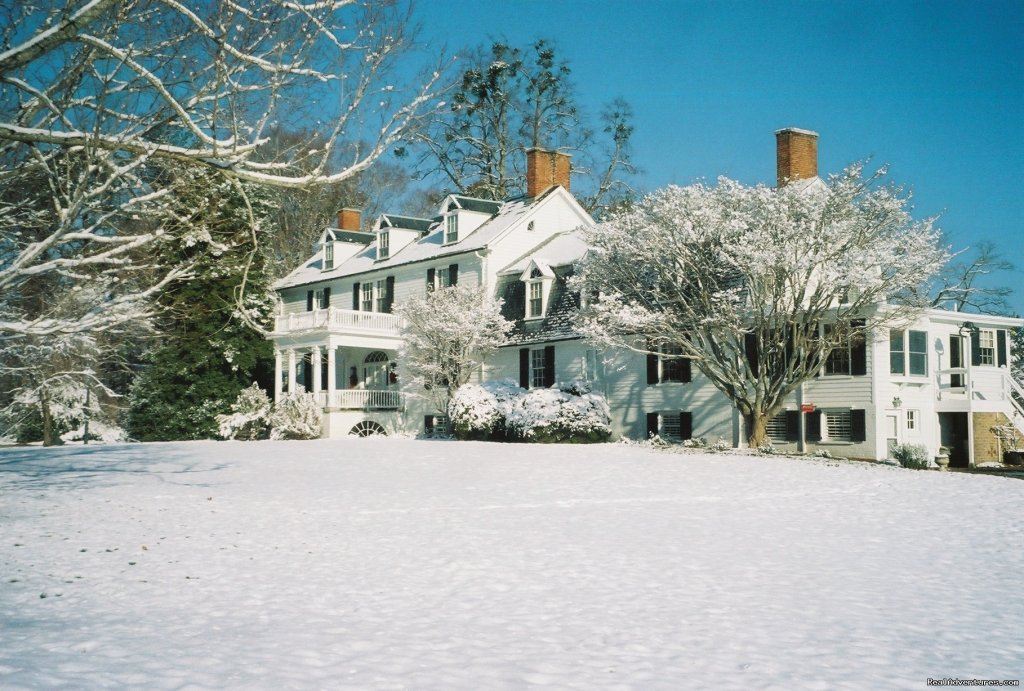 Airville in Winter | Image #3/3 | Airville Plantation