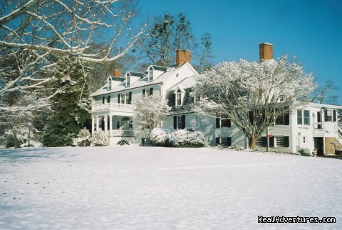 Airville in Winter - Airville Plantation