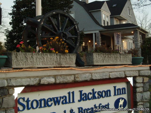 We can't wait to meet you - Stonewall Jackson Inn Bed & Breakfast