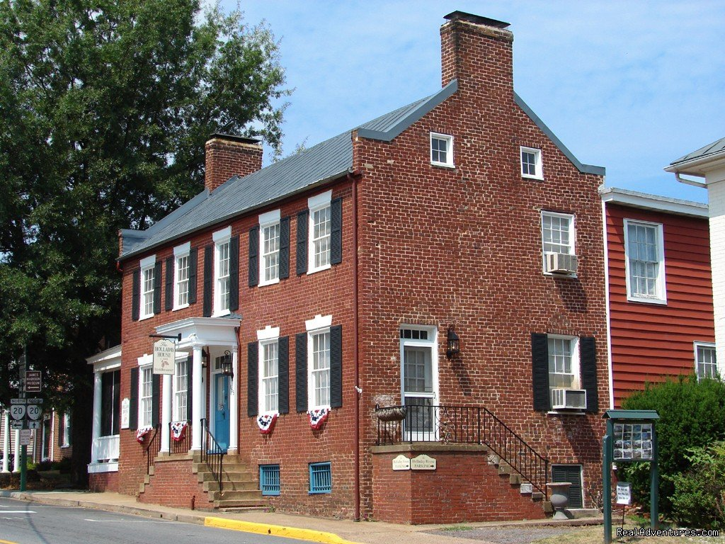 Wine and History Escapes at a Virginia B & B Orange, Virginia  Bed & Breakfasts