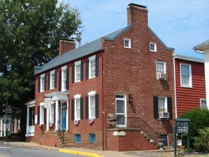 Wine and History Escapes at a Virginia B & B Bed & Breakfasts Orange, Virginia