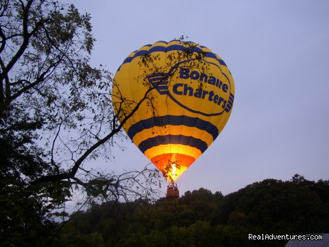 Hot Air Balloon Launch at Mayhurst - Mayhurst Inn - More than a Perfect Getaway