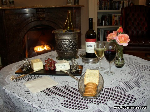 Evening Wine and Cheese - Mayhurst Inn - More than a Perfect Getaway