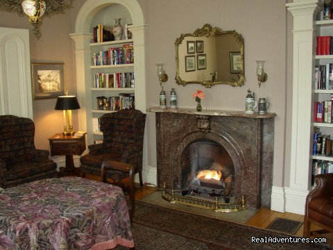 Mayhurst Library - Mayhurst Inn - More than a Perfect Getaway