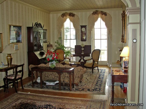 The Main Parlor - Mayhurst Inn - More than a Perfect Getaway