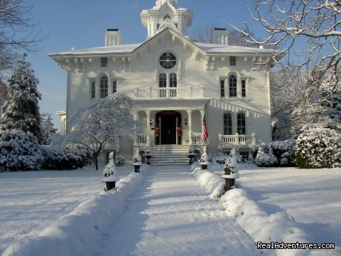 The Manor House in Winter - Mayhurst Inn - More than a Perfect Getaway
