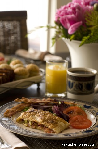 Breakfast - Mountain Getaways at Inn at Riverbend