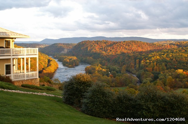 Fall along the New River. (#8 of 17) - Mountain Getaways at Inn at Riverbend