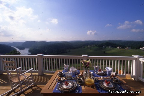 View from the Deck (#1 of 17) - Mountain Getaways at Inn at Riverbend