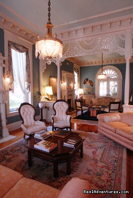 The Front Parlor - Grace Manor Inn