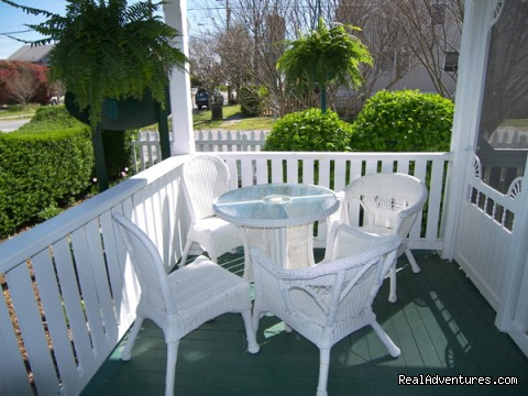 Corner Nook on Front Porch (#2 of 11) - Rekindle Romance in Virginia Beach Bed & Breakfast