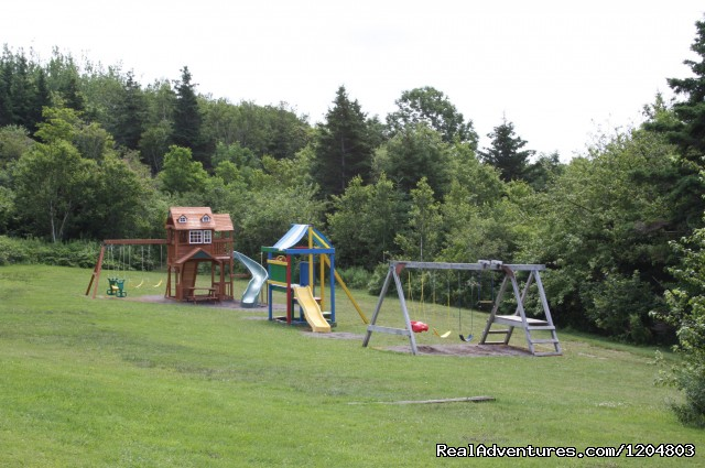 Playground area - Hyclass Ocean Campground & Cottages