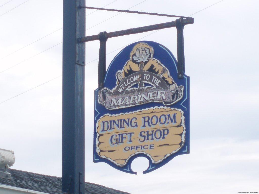 Our Sign | Image #7/15 | Cove Motel & Mariner Dining Room