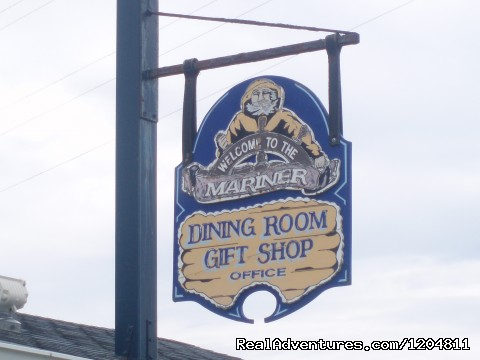 Our Sign - Cove Motel & Mariner Dining Room