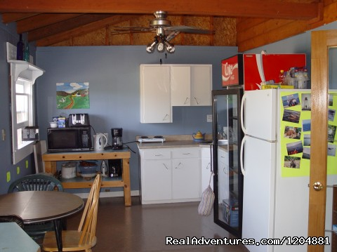 Multi Purpose Room Kitchen - Cabot Trail Backpackers Hostel
