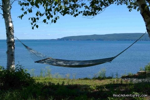 Relax & enjoy the view - Cape Breton Resort / Cottages Luxury Oceanfront