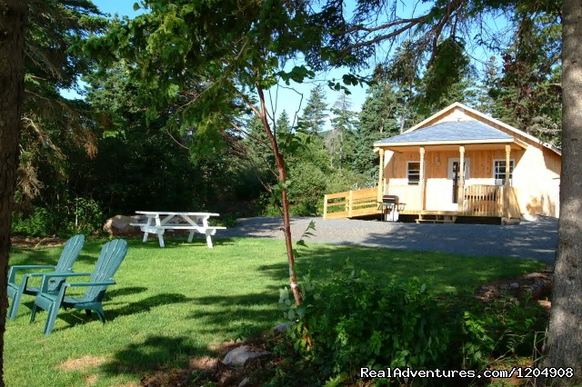 Wilderness Cottage Oceanfront - Cape Breton Resort / Cottages Luxury Oceanfront