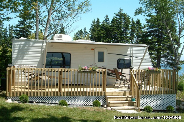 Exteriopr Mini Cottage - Cape Breton Resort / Cottages Luxury Oceanfront