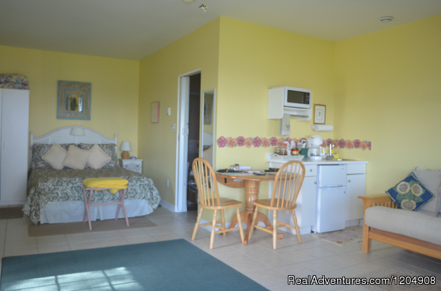 Oceanfront Mini Cottage Living area (#16 of 26) - Cape Breton Island Resorts Hotel Cottages B&B