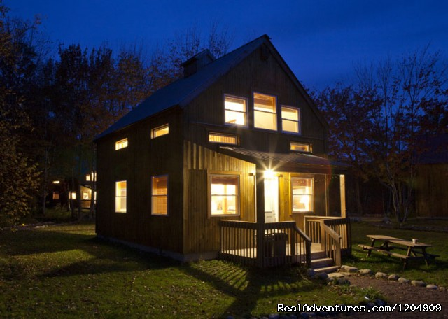 Chalet at Night - Cabot Shores Wilderness Resort