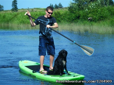 Yolo Boarding with Cosmo - Cabot Shores Wilderness Resort