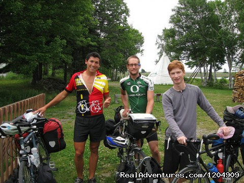 Visiting Cyclists (#10 of 22) - Cabot Shores Wilderness Resort