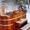 Outdoor Cedar Soaker Tubs