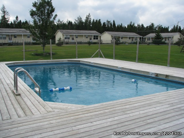 Pool and Playground - Joyce's Motel & Cottages